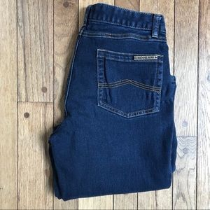 Michael Kors Dark Wash Straight Leg Jeans     *K10